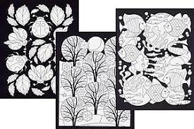 Small Picture Stained Glass Coloring Books by MindWare