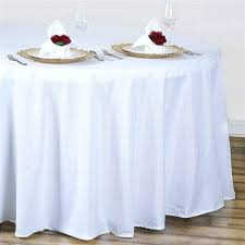 120 inch round tablecloth plastic white polyester round tablecloth 60 x 120 vinyl tablecloth