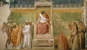 st francis before the sultan trial by fire