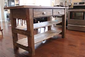 Kitchen Finest Rustic Kitchen Island With Regard To Distressed