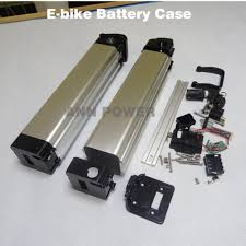 electric bicycle 24v battery box e bike lithium battery case for diy li ion battery pack not include the battery free