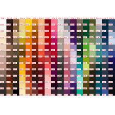 Mettler Color Chart Mettler Thread 100m
