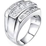 Sterling Manufacturers <b>Men's Sterling Silver</b> .<b>925</b> Ring Featuring ...