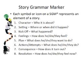 Story Grammar Story Grammar Marker Technique From Gail Vantatenhove For