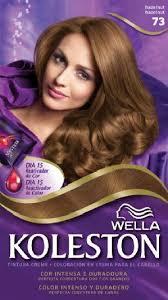 wella koleston hair dye kit 7 3 hazelnut