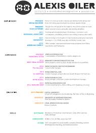Graphic Designer Resume Inspiration Cv By Bernice Beltran 50 Inspiring Resume Designs And What