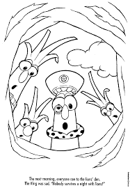 Small Picture Veggie Tales Coloring Pages Jimmy Coloring Home