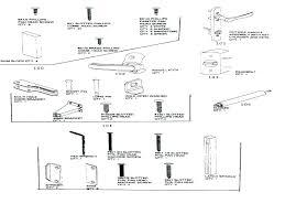lock parts diagram door lock parts names door lock parts names car door lock parts diagram
