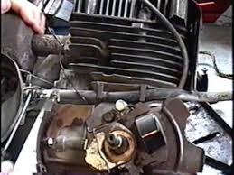 how to remove flywheel points timing and reassembly of tecumseh how to remove flywheel points timing and reassembly of tecumseh 8hp part 2 of 3