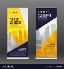 Design Corporate Corporate Roll Up Banner Design Template