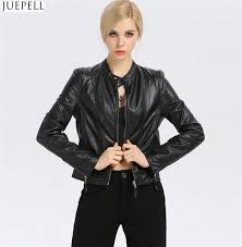 china new fashion women s small leather collar slim leather jacket short section of european and american fashion whole jackets china women pu leather