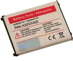 AKKU LI-ION passend für PANASONIC X200 ...