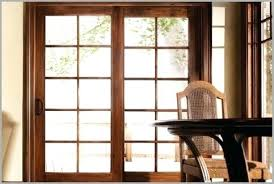 french sliding glass doors patio