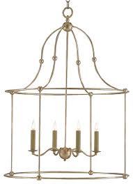 orenda modern silver leaf simple iron lantern