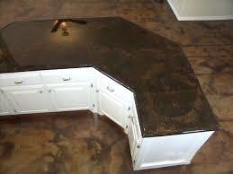 best concrete countertop sealer concrete acid stain look