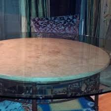 42 inch round glass table top glass table top inch clear amp colored round glass table