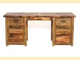 timber office desk. rustic timber barn wood executive desk office l