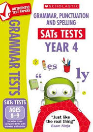 Grammar Punctuation Grammar Punctuation And Spelling Test Year 4 National Curriculum Sats Tests Paperback
