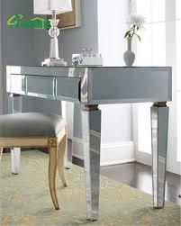 office desk mirror. Interesting Mirror Modern Mirrored Long Glass Office Desk In Office Desk Mirror A