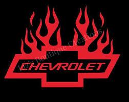 chevrolet racing logo. chevy bowtie flames decal chevrolet vinyl sticker car auto accessories racing logo