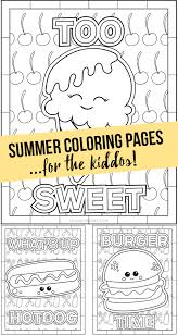 If you enjoy these pictures, be sure to see all our summer coloring pages and the printable calendar sheets for each month. Summer Coloring Pages For The Kiddos Live Laugh Rowe
