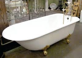 antique clawfoot tub value for porcelainclawfoottubrefinish
