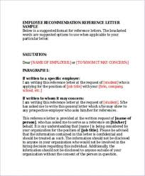 Recommendation Letter From Employer For Student Sample Letter Of Recommendation For High School Student From