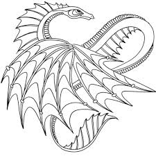 Free Printable Dragon Coloring Pages For Adults Free Coloring