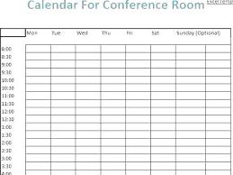 Meeting Room Scheduler Template Meeting Room Calendar Template Excel Monthly Schedule