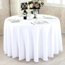 linen round tablecloth lot whole polyester round tablecloth for wedding hotel decor white table cloth square