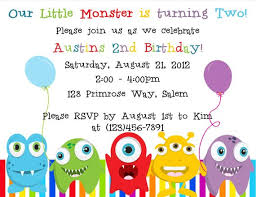 Lil Monster Birthday Invitations Monster Birthday Invitation Digital File Little Monster
