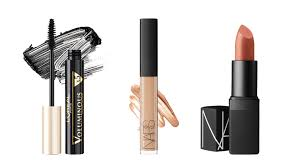 l oréal paris voluminous mascara dhs52 nars radiant creamy concealer in custard dhs159 at sephora nars lipstick in kiss me stupid dhs150 at sephora