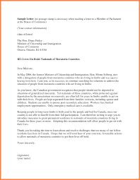 Letter Of Recommendation For Immigration Sample From Employer