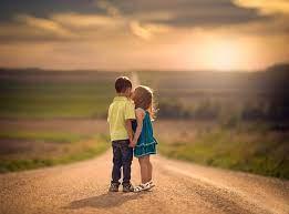 Cute love images, Kids kiss ...