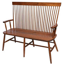 Amish Benches  DutchCrafters Amish FurnitureQuaker Bench