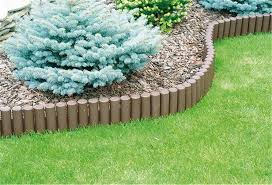 garden edging fence. Inspirations Garden Edging Fence With OL5 LOG ROLL Lawn Boarder Edge Fencing Plastic A
