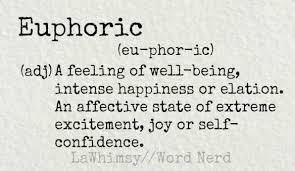 Word Nerd: Euphoric | Lawhimsy