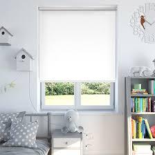 white blackout blinds. Modren Blackout Luna White Blackout Roller Blind To Blinds L