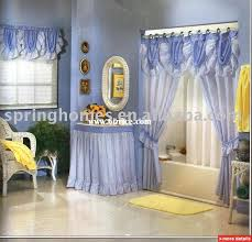 shower curtains with valance and tiebacks adorable tie back double swag 5 piece liner 9