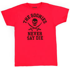 Loot Crate T Shirt Size Chart Loot Crate The Goonies T Shirt Exclusive