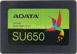 Купить <b>SSD накопитель</b> A-DATA Ultimate SU650 ASU650SS ...