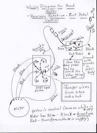 Dayton motor wiring diagram for model 5452 electric reversible switch 6k084