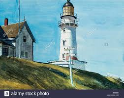 edward hopper the lighthouse at two lights 2