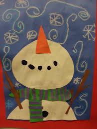 Winter Art Activity Grade 2