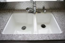 white cast iron sink. Contemporary Iron WHITE CECO CAST IRON KITCHEN SINK  We Included A Two Compartment White  Finish  Throughout White Cast Iron Sink M