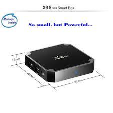 China Popular S905W 1g 2g 8g 16g X96W TV Box Android 9.0 4K TV Box X96 Mini  2019 - China Android Smart TV Box, Smart TV Box