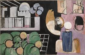 henri matisse  henri matisse the moroccans 1915 16 oil on canvas 181 3 x 279 4 cm museum of modern art