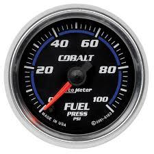 gauges cobalt 2 1 16 fuel pressure 0 100 psi stepper motor cobalt