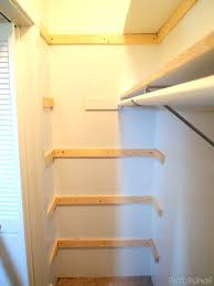 shelving material adding braces for our custom in builder basic closet reality daydream lumber home depot