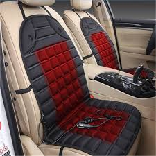 12v 35w knitted fabric car seat heated cushion winter warmer cover seat heating mat universal banggood com sold out